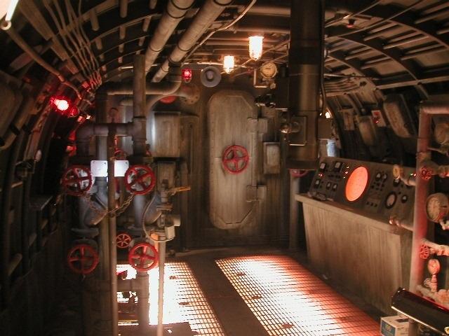 Awesome Interior Submarine Set Piece