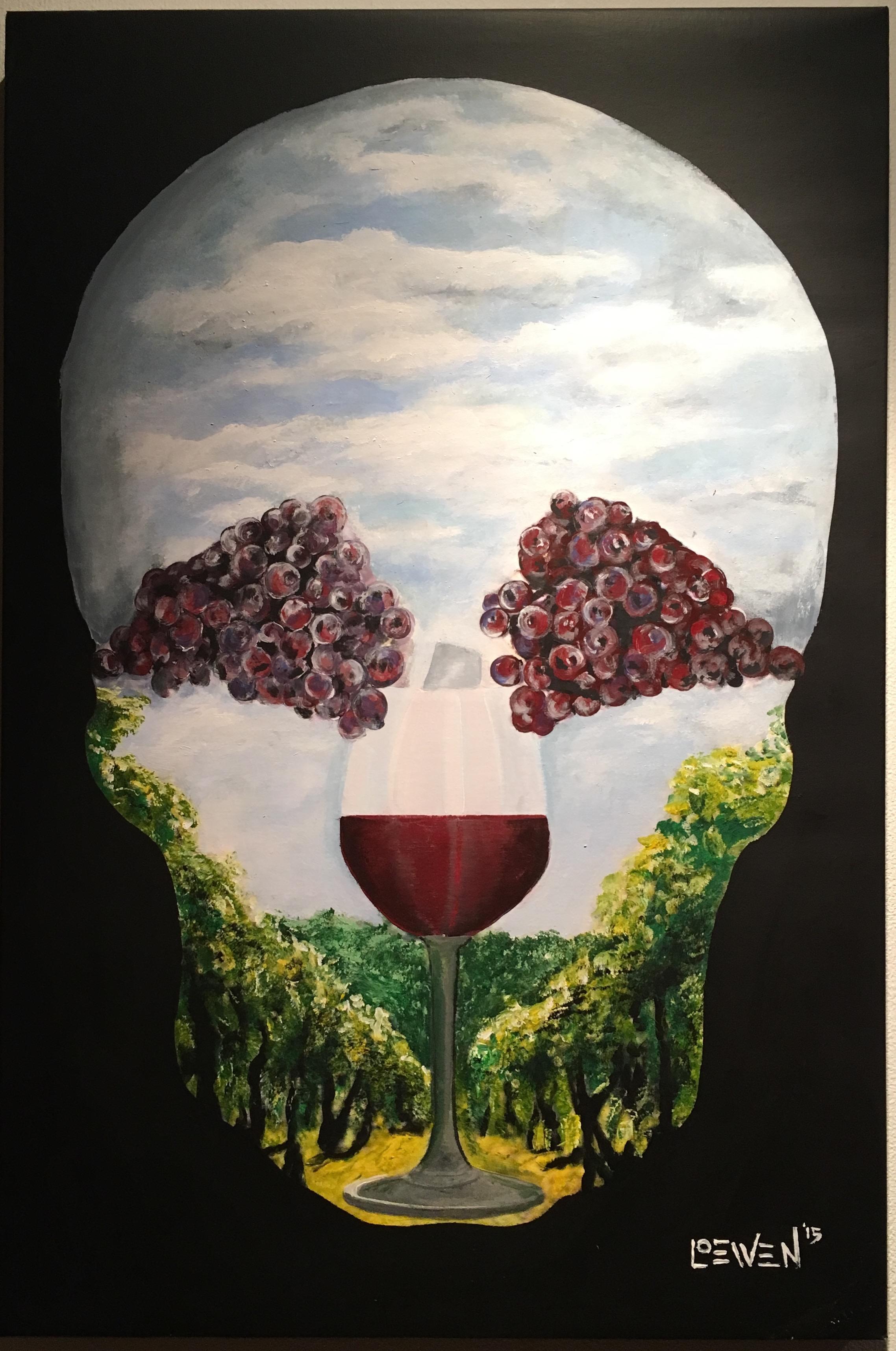 Winery Skull